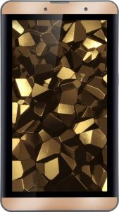 Iball Slide Snap 4G2 16 GB 7 inch with Wi-Fi+4G (Biscuit Gold)