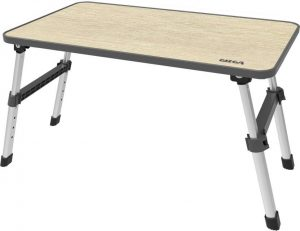 Gizga Solid Wood Portable Laptop Table (Finish Color - Brown)