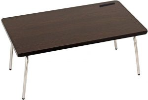 Ibs Riona Foldable Study Bed Wood Portable Laptop Table