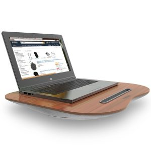 Tizum Portable Lapdesk laptop Pillow with Built-in Soft Cushion, Can Be Used for Laptop Table, Stand, Studying, Reading, Writing, Bed Table.