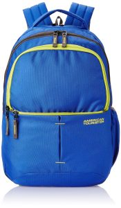American Tourister 18 Liters Blue and Lime Casual Backpack (45W (0) 09002)