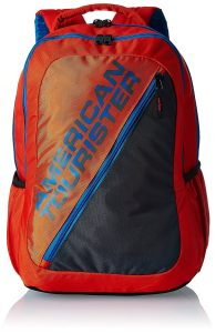 American Tourister Orange Casual Backpack (69W (0) 96 005)